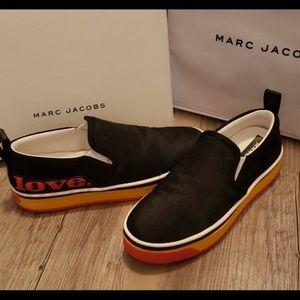 NWT! Marc Jacobs Love Mercer Slip on Sneaker in 41